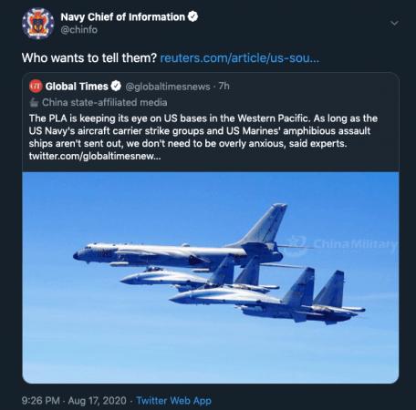 China trolled
