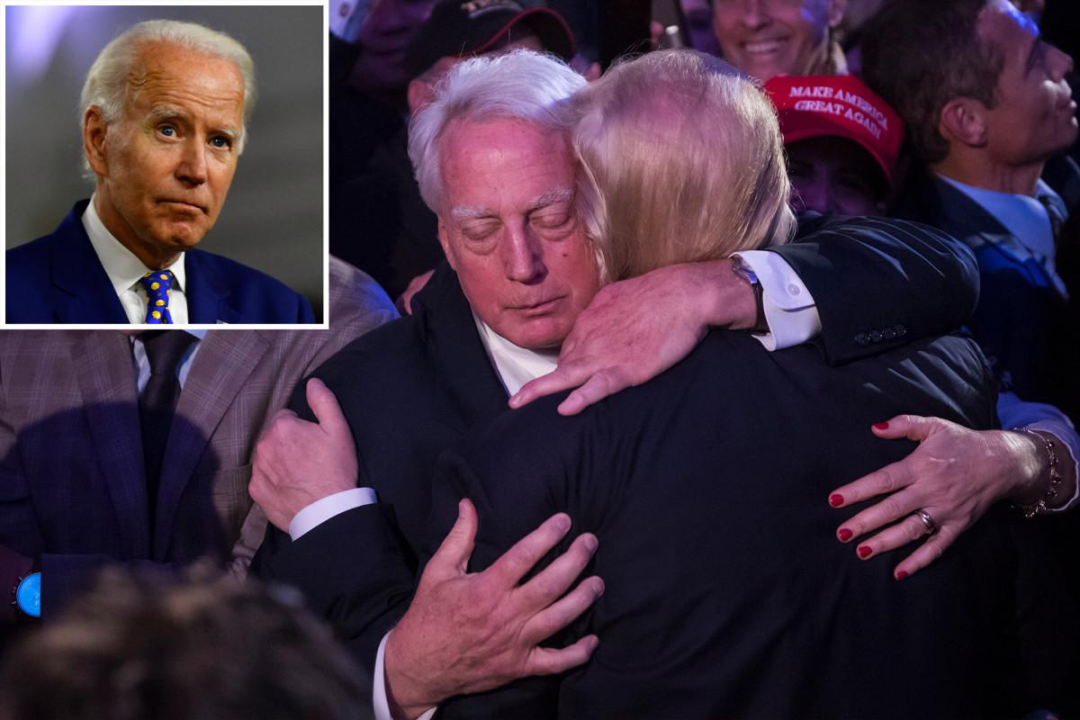 Joe Biden ofrece condolencias por muerte de Robert Trump