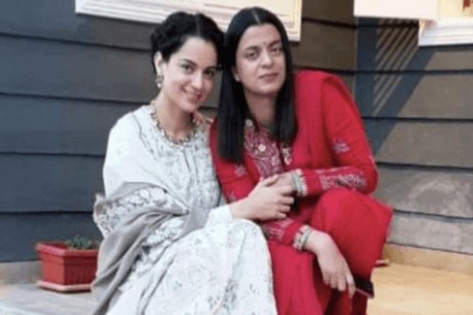 Kangana Ranaut y Rangoli Chandel