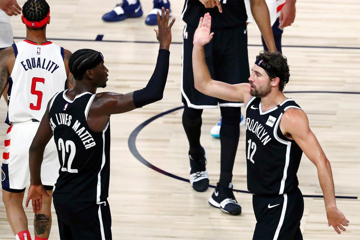 Las redes esencialmente golpean el boleto de playoff de la NBA con la victoria sobre los Wizards