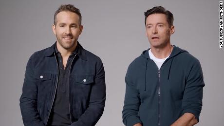Ryan Reynolds y Hugh Jackman están pidiendo una tregua por una buena causa