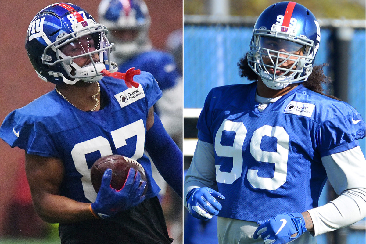 Sterling Shepard y Leonard Williams son de repente los estadistas mayores de los Gigantes