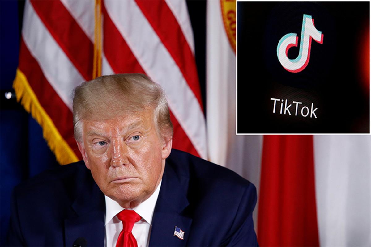 Trump dice que tiene la intención de 'prohibir' a TikTok de los EE. UU.