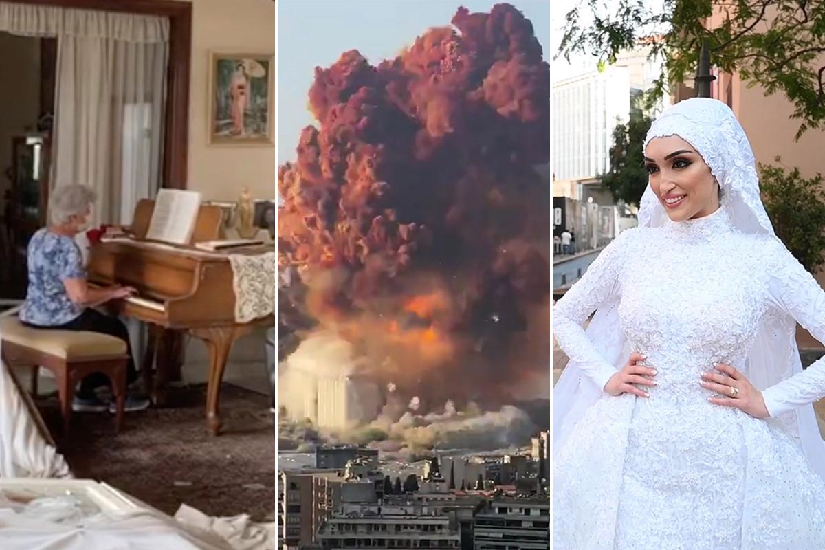 Videos impactantes revelan el alcance de la aterradora explosión de Beirut