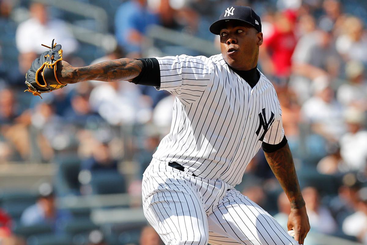 Yankees pueden agregar a Aroldis Chapman a su bullpen