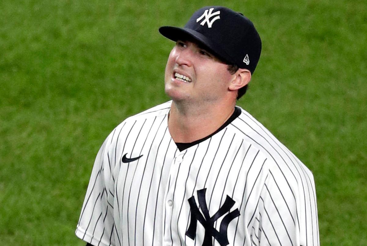 Zack Britton de los Yankees se lastima el tendón de la corva, podría ir a IL